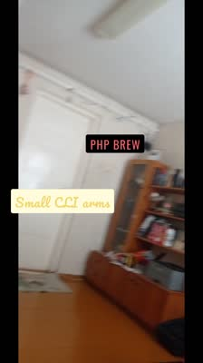 PHP brew Small CLI arms